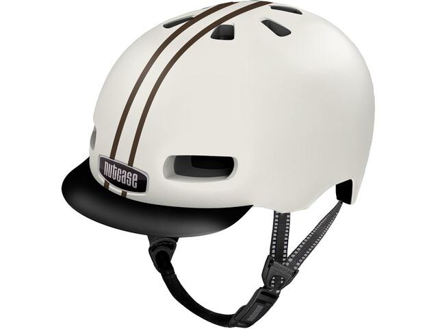 Nutcase Street MIPS Helmet leather bound stripe gloss